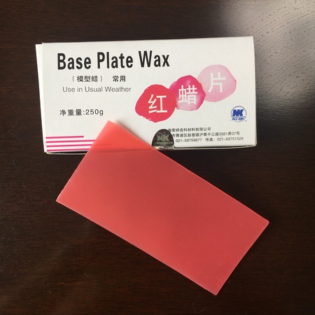 base plate wax(normal)